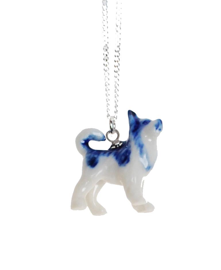 husky collier dog